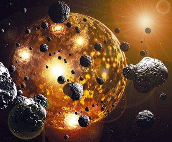 Метеориты выпадали на Землю дождем из благородных металлов