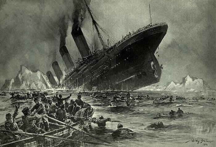 Титаник затонул из-за влияния Луны?