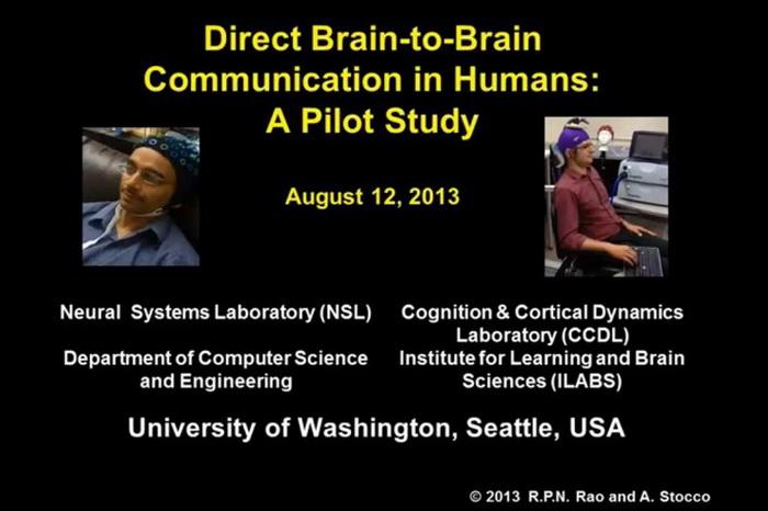 Два американских исследователя заявили о первом соединении интеллектов