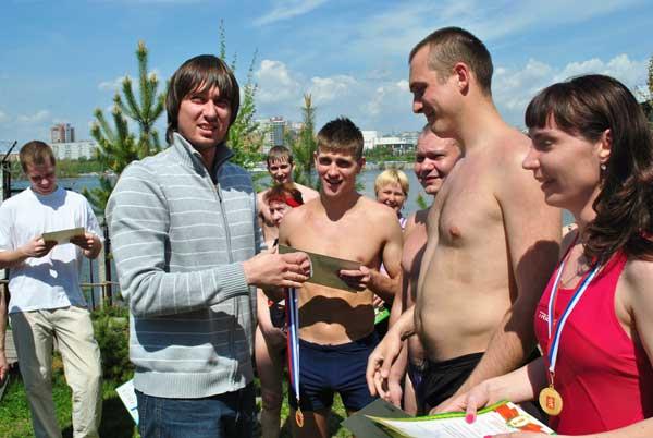 Красноярский чемпионат по плаванию в холодной воде. Фоторепортаж