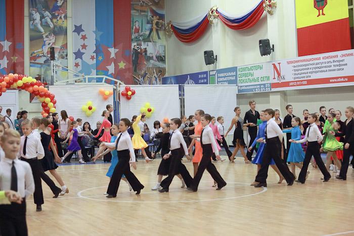 Российский турнир по спортивным танцам «Осенний дебют-2012» завершился в Рязани