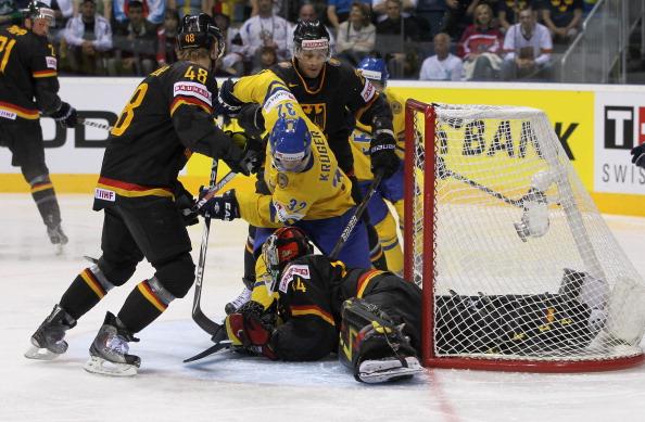 161 12051Sv G 01 - Сборная Швеции выиграла у  Германии со счетом  5:2. Фоторепортаж с матча