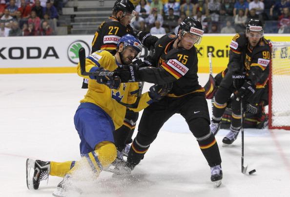 161 12051Sv G 03 - Сборная Швеции выиграла у  Германии со счетом  5:2. Фоторепортаж с матча