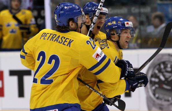 161 12051Sv G 05 - Сборная Швеции выиграла у  Германии со счетом  5:2. Фоторепортаж с матча