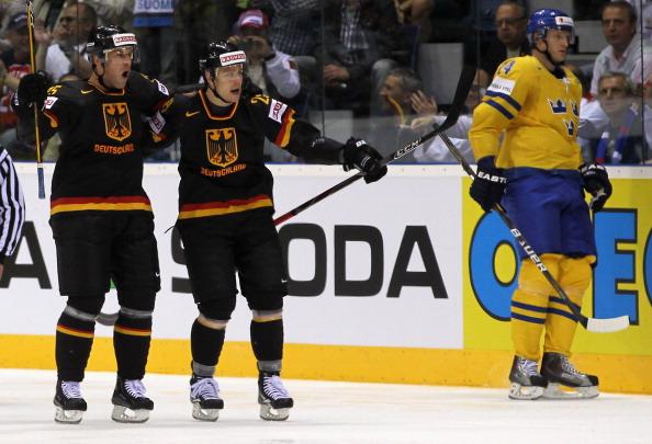 161 12051Sv G 06 - Сборная Швеции выиграла у  Германии со счетом  5:2. Фоторепортаж с матча