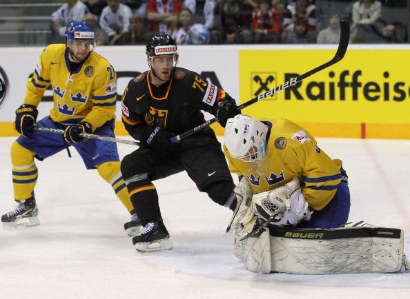 161 12051Sv G 09 - Сборная Швеции выиграла у  Германии со счетом  5:2. Фоторепортаж с матча