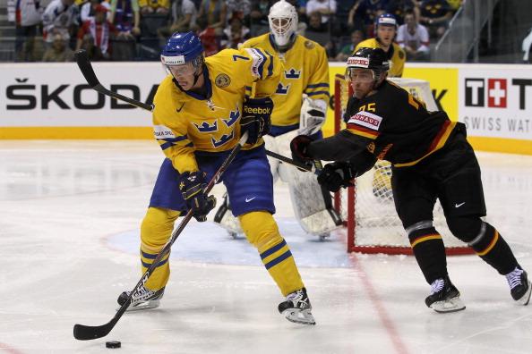 161 12051Sv G 11 - Сборная Швеции выиграла у  Германии со счетом  5:2. Фоторепортаж с матча
