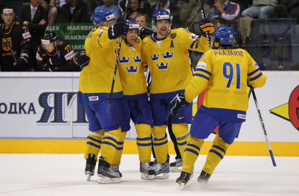 161 12051Sv G 14 - Сборная Швеции выиграла у  Германии со счетом  5:2. Фоторепортаж с матча