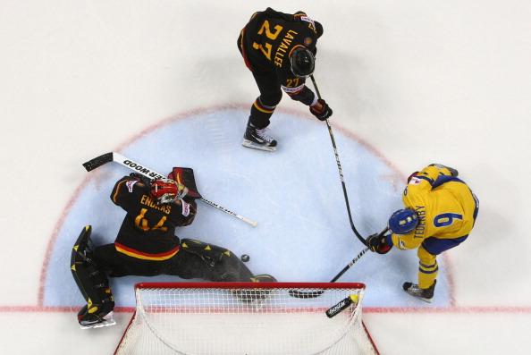 161 12051Sv G 23 - Сборная Швеции выиграла у  Германии со счетом  5:2. Фоторепортаж с матча