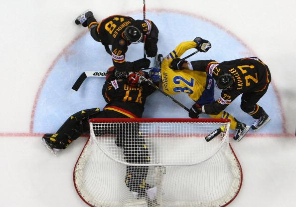 161 12051Sv G 24 - Сборная Швеции выиграла у  Германии со счетом  5:2. Фоторепортаж с матча