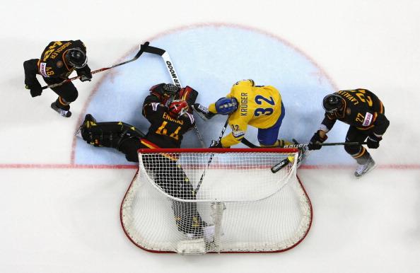 161 12051Sv G 25 - Сборная Швеции выиграла у  Германии со счетом  5:2. Фоторепортаж с матча