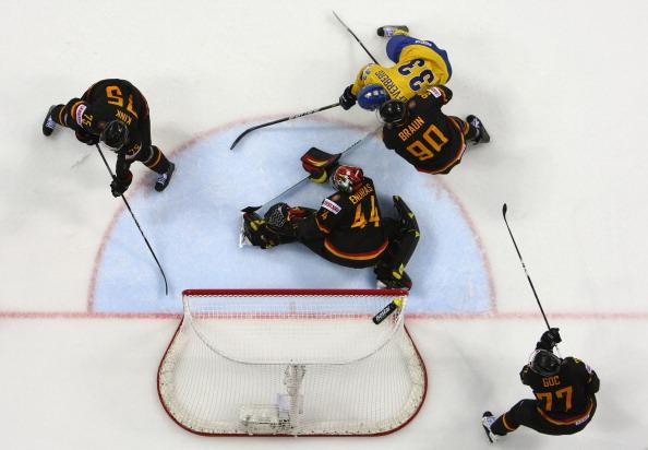 161 12051Sv G 28 - Сборная Швеции выиграла у  Германии со счетом  5:2. Фоторепортаж с матча