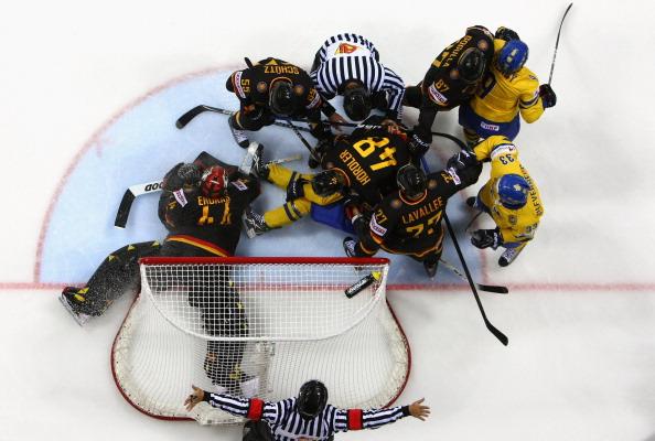 161 12051Sv G 29 - Сборная Швеции выиграла у  Германии со счетом  5:2. Фоторепортаж с матча