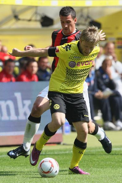 161 16051Borus 06 - «Боруссия» победила  «Айнтрахт»  со счетом 3:1 и стала чемпионом  Германии в бундеслиге.  Фоторепортаж с матча