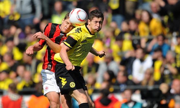 161 16051Borus 15 - «Боруссия» победила  «Айнтрахт»  со счетом 3:1 и стала чемпионом  Германии в бундеслиге.  Фоторепортаж с матча