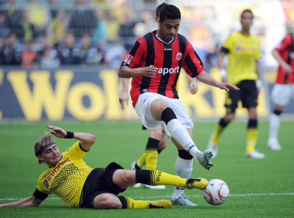 161 16051Borus 18 - «Боруссия» победила  «Айнтрахт»  со счетом 3:1 и стала чемпионом  Германии в бундеслиге.  Фоторепортаж с матча