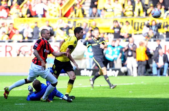 161 16051Borus 26 - «Боруссия» победила  «Айнтрахт»  со счетом 3:1 и стала чемпионом  Германии в бундеслиге.  Фоторепортаж с матча