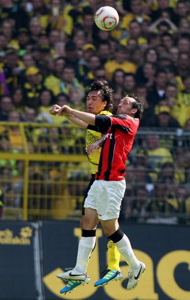 161 16051Borus 32 - «Боруссия» победила  «Айнтрахт»  со счетом 3:1 и стала чемпионом  Германии в бундеслиге.  Фоторепортаж с матча