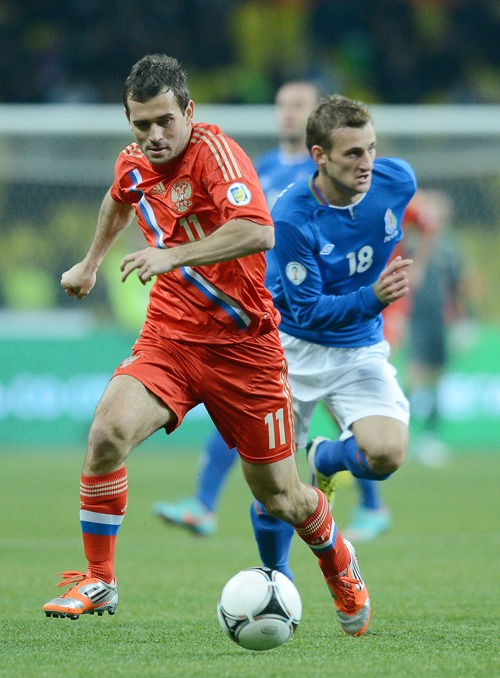 Россия – Азербайджан, 1:0. Фоторепортаж  и видео с футбольного матча