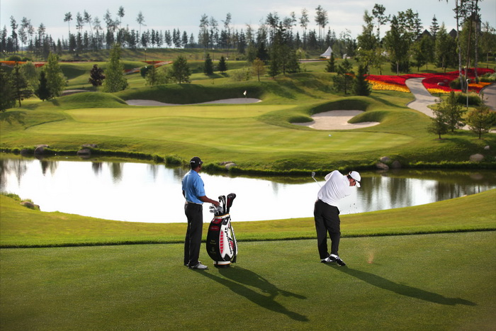 Игра в гольф может изменить жизнь