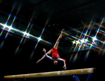 На юниорском первенстве Европы  по спортивной гимнастике в личном многоборье одержали  победу Виктория Комова и Анастасия Гришина