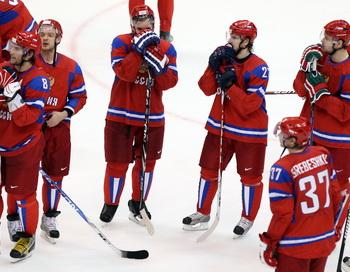 Россия проиграла заключительный этап хоккейного Евротура