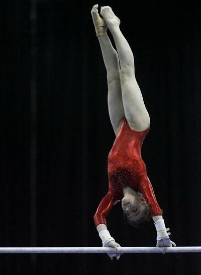 Российские гимнастки выиграли британский чемпионат Европы в общем зачете. Фоторепортаж