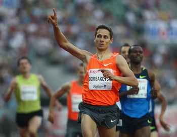 163 040210 LA - Юрий Борзаковский выиграл международный турнир по легкой атлетике в Дюссельдорфе