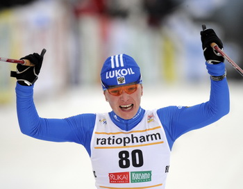 Ирина Хазова заняла третье место на Кубке мира по лыжным гонкам в Кэнморе