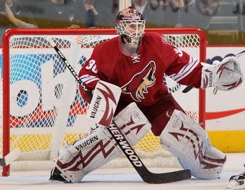 Набоков и Брызгалов признаны лучшими игроками матчей НХЛ