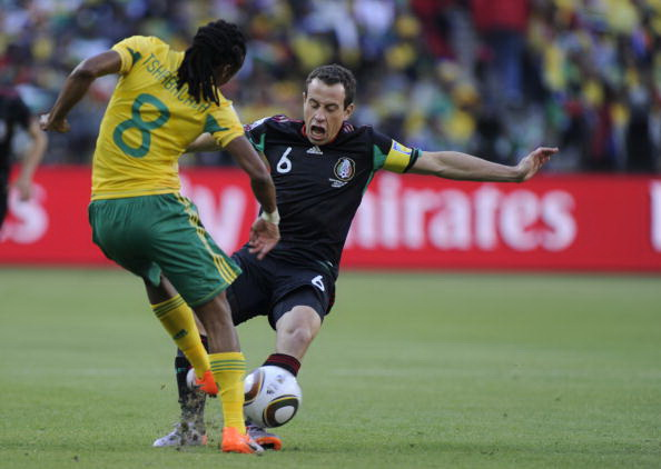 Кубок мира 2010. ЮАР - Мексика ничья 1:1.  Фоторепортаж