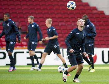 «Копенгаген» - «Рубин»  первый матч группового раунда Лиги чемпионов
