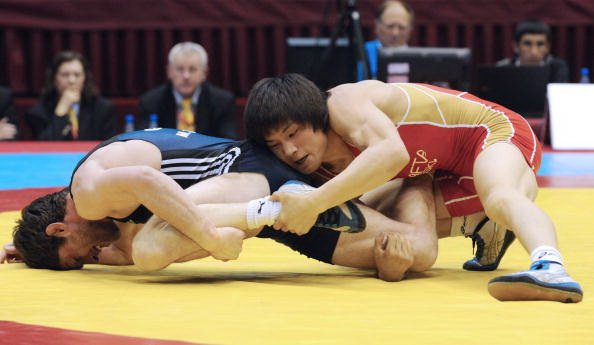 163 150410 02 VB - Сборная России по вольной борьбе выиграла чемпионат Европы в Баку. Фоторепортаж