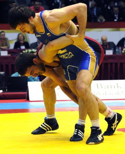 163 150410 05 VB - Сборная России по вольной борьбе выиграла чемпионат Европы в Баку. Фоторепортаж
