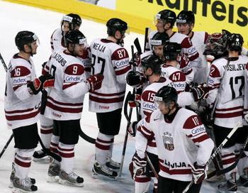 ЧМ-2010: Латвия разгромила Норвегию