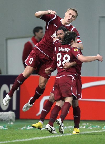 163 190310 001 BF - «Рубин» проиграл «Вольфсбургу» в матче 1/8 финала Лиги Европы. Фото