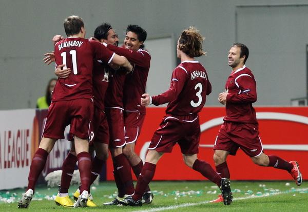 163 190310 002 BF - «Рубин» проиграл «Вольфсбургу» в матче 1/8 финала Лиги Европы. Фото
