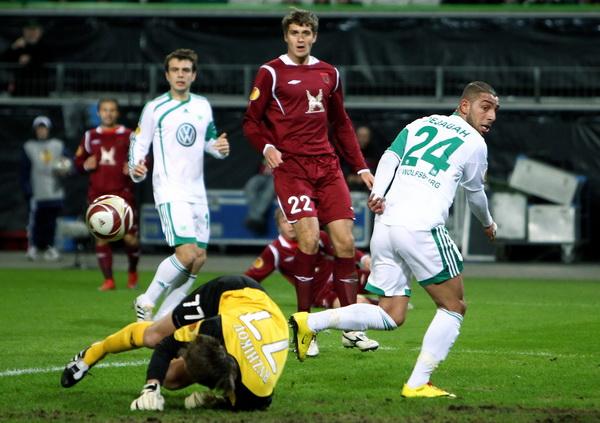163 190310 08 BF - «Рубин» проиграл «Вольфсбургу» в матче 1/8 финала Лиги Европы. Фото