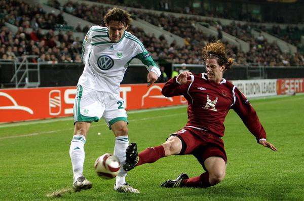 163 190310 09 BF - «Рубин» проиграл «Вольфсбургу» в матче 1/8 финала Лиги Европы. Фото