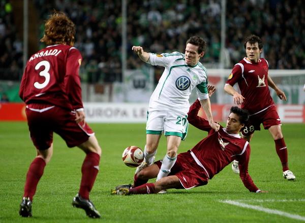 163 190310 10 BF - «Рубин» проиграл «Вольфсбургу» в матче 1/8 финала Лиги Европы. Фото