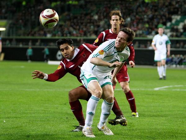 163 190310 12 BF - «Рубин» проиграл «Вольфсбургу» в матче 1/8 финала Лиги Европы. Фото