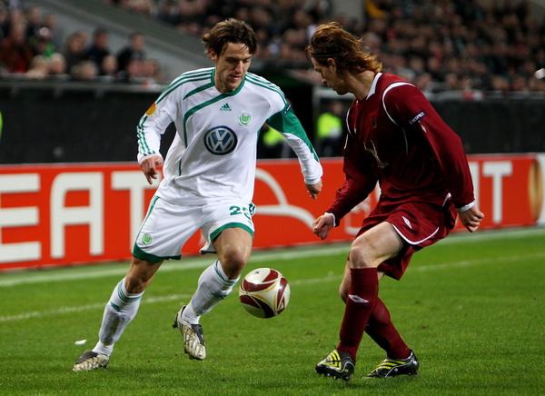 163 190310 15 BF - «Рубин» проиграл «Вольфсбургу» в матче 1/8 финала Лиги Европы. Фото