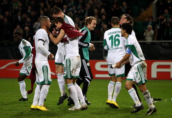163 190310 17 BF - «Рубин» проиграл «Вольфсбургу» в матче 1/8 финала Лиги Европы. Фото
