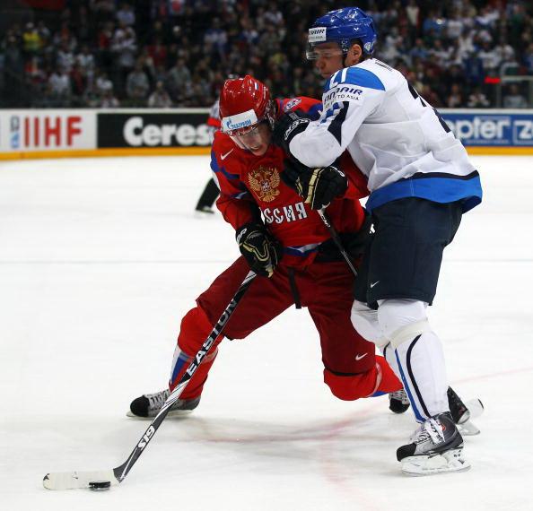 ЧМ-2010: Сборная России разгромила финнов. Фоторепортаж