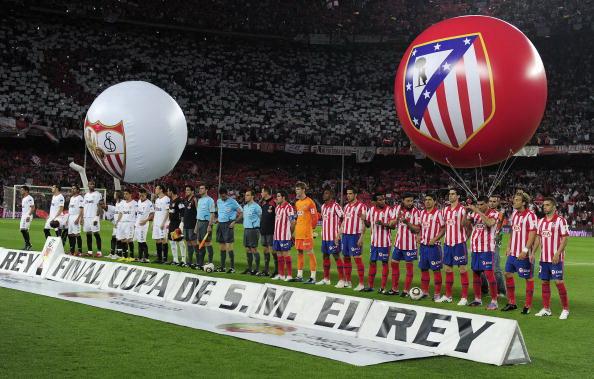 ФК «Севилья» стала обладателем Кубка Испании. Фоторепортаж