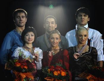 163 210110 FKevropa - Юко Кавагути и Александр Смирнов выиграли чемпионат Европы в эстонском Таллине