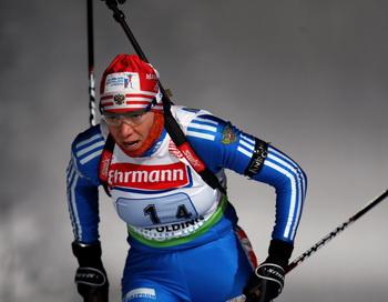 Зайцева заняла четвертое место на Кубке мира по биатлону в Антерсельве