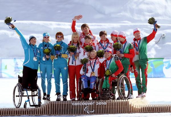 Сборная России осталась второй после восьмого дня Паралимпиады. Фото
