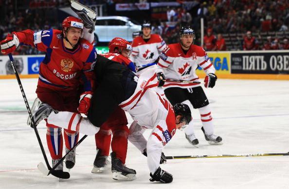 ЧМ-2010: Россия разгромила Канадцев. Фоторепортаж