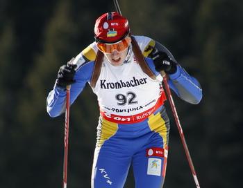 Сергей Седнев выиграл гонку  на шестом этапе Кубка мира по биатлону